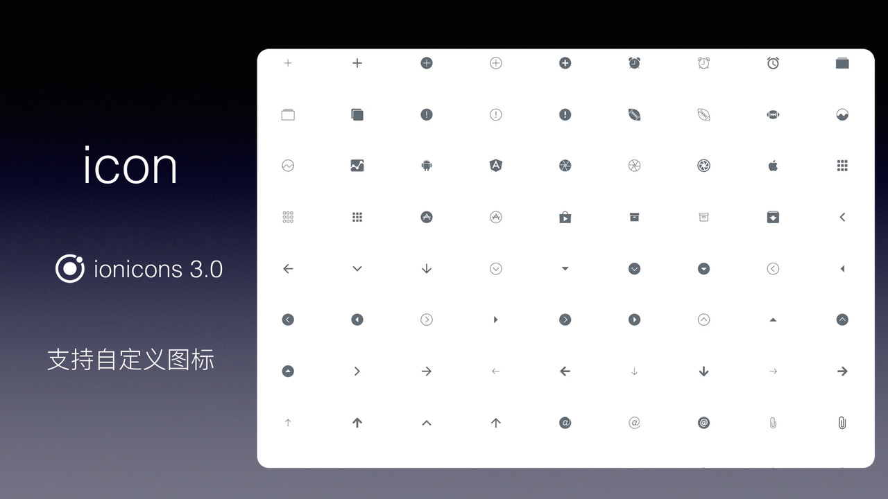 iView 3.0 图标组件 Icon
